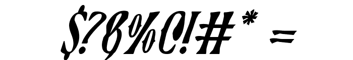 Xiphos Italic Font OTHER CHARS