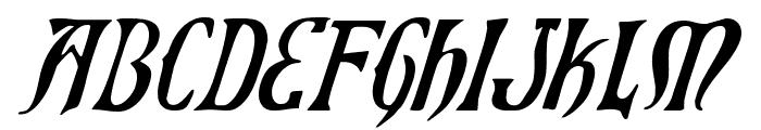 Xiphos Italic Font LOWERCASE