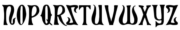 Xiphos Font UPPERCASE