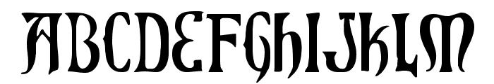 Xiphos Font LOWERCASE