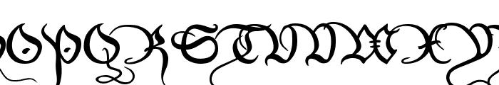 Xirwena Font UPPERCASE