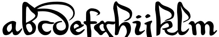 Xirwena Font LOWERCASE