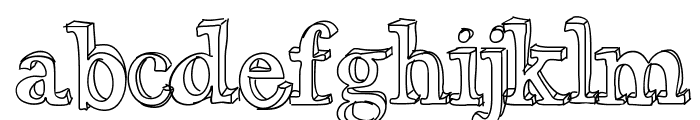 xiImperfect Font LOWERCASE
