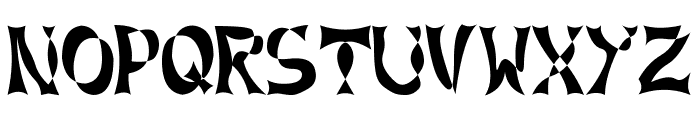 XLines Font UPPERCASE