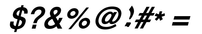 XM Vahid Bold Italic Font OTHER CHARS
