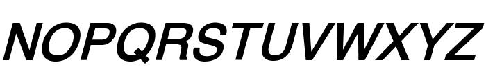 XM Vahid Bold Italic Font UPPERCASE