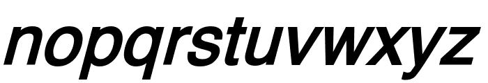 XM Vahid Bold Italic Font LOWERCASE