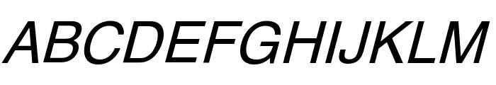 XM Vahid Italic Font UPPERCASE