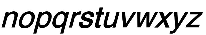 XM Yermook Bold Italic Font LOWERCASE