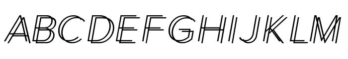 Xmas Shopping Font UPPERCASE