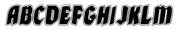 Xmas Xpress Academy Italic Font UPPERCASE