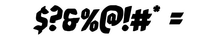 Xmas Xpress Italic Font OTHER CHARS