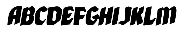 Xmas Xpress Rotalic Font LOWERCASE