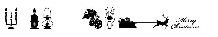 Xmas tfb Christmas Font OTHER CHARS