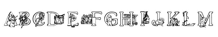 XmasAlpha Font LOWERCASE