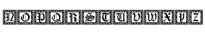 XmasCaps Font UPPERCASE