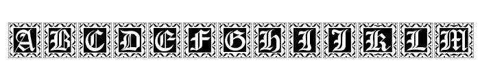 XmasCaps Font LOWERCASE