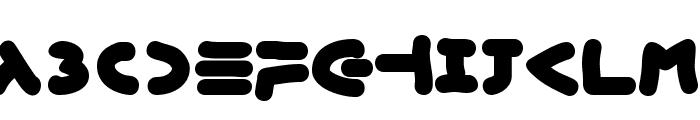 XmasGingerbread Font UPPERCASE