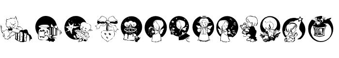 XmasPromotionsSymbols Font UPPERCASE