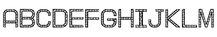 XmasTree Font LOWERCASE