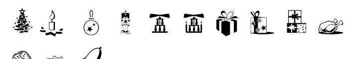Xmas Essentials Font LOWERCASE