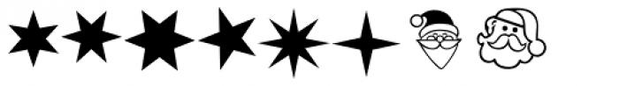 Xmas LH Pi One Font UPPERCASE