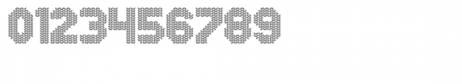 Xmas Sweater Stitch Font OTHER CHARS