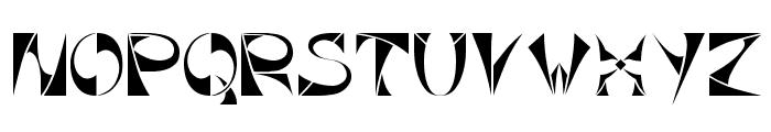 Xorx_Toothy Cyr Font UPPERCASE