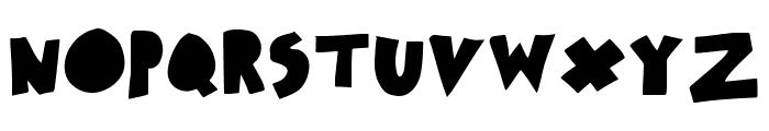 xotax Font UPPERCASE