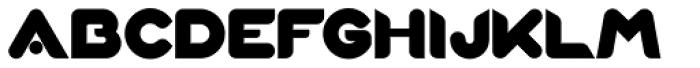 Xova Layered Base Font UPPERCASE