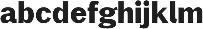 Xpress Bold otf (700) Font LOWERCASE