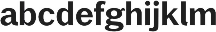 Xpress DemiBold otf (600) Font LOWERCASE
