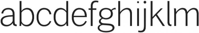 Xpress ExtraLight otf (200) Font LOWERCASE