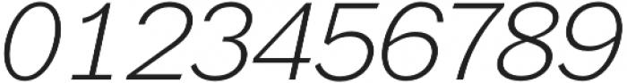 Xpress ExtraLightItalic otf (200) Font OTHER CHARS