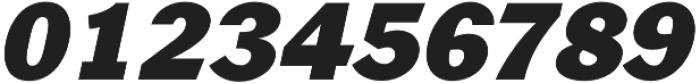 Xpress HeavyItalic otf (800) Font OTHER CHARS