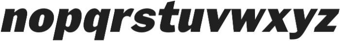 Xpress HeavyItalic otf (800) Font LOWERCASE