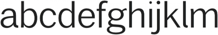 Xpress Light otf (300) Font LOWERCASE