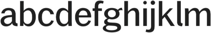 Xpress otf (400) Font LOWERCASE