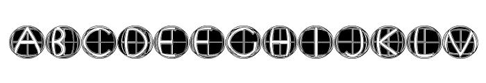 XPFourTwoContour Medium Font UPPERCASE