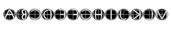 XPFourTwoContour Medium Font LOWERCASE