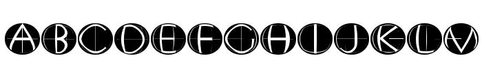 XperimentypoFourC RoundInvers Font UPPERCASE