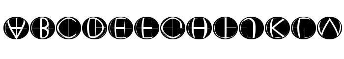 XperimentypoFourC RoundInvers Font LOWERCASE