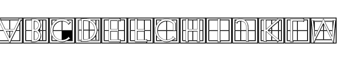 XperimentypoThree-C-Square Font LOWERCASE