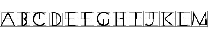 XperimentypoThree-Crazy Font UPPERCASE