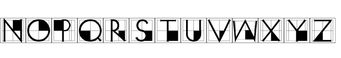 XperimentypoThree-Crazy Font LOWERCASE