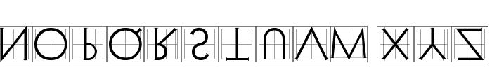 XperimentypoThree Squares Font LOWERCASE