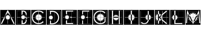 XperimentypoTwoCrazy Font LOWERCASE