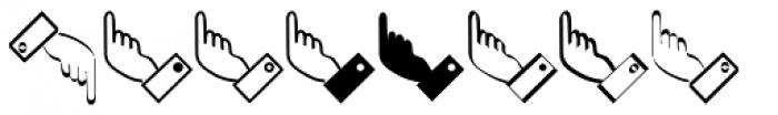 XPointed Desert Font UPPERCASE