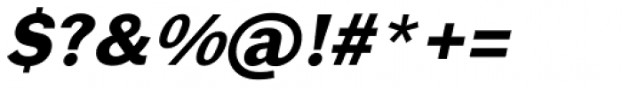 Xpress Bold Italic Font OTHER CHARS