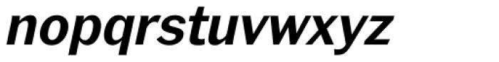Xpress Demi Bold Italic Font LOWERCASE